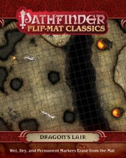 Pathfinder Flip-Mat Classics: Dragon's Lair (release date 26th June)