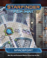 Starfinder Flip-Mat Starship: Spaceport