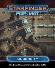 Starfinder Flip-Mat: Undercity (expected in stock on 18th November)