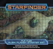 Starfinder Flip-Tiles: Alien Planet Starter Set