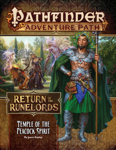 Pathfinder Adventure Path 136: Temple of the Peacock Spirit (Return of the Runelords 4 of 6) (release date 14th November)