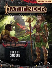 Pathfinder RPG Second Edition Adventure Path: Cult of Cinders (Age of Ashes 2 of 6)