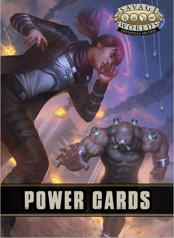 Savage Worlds Powers Deck