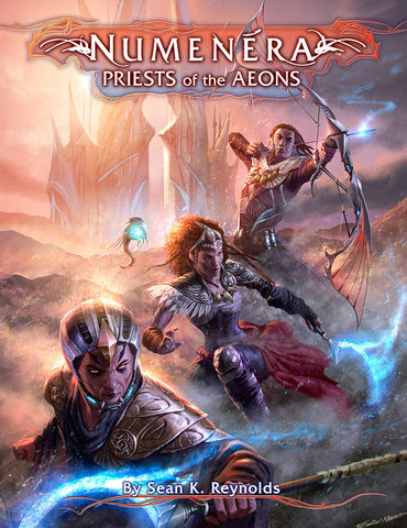 Numenera RPG: Priests of the Aeons