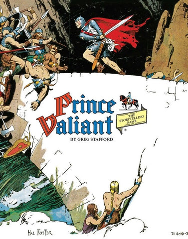 Prince Valiant Rule Book - Hardcover + complimentary PDF