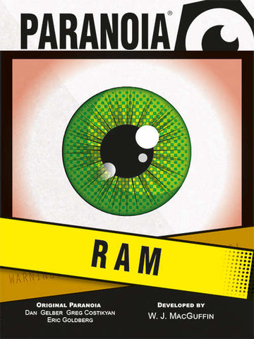 Paranoia: The RAM Deck