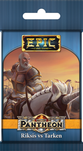 Epic Card Game: Pantheon – Riksis vs Tarken (expected in stock 21st August)