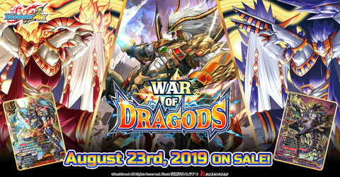 BFE Ace Booster Pack Vol 5. War of Dragods (release date 23rd August)