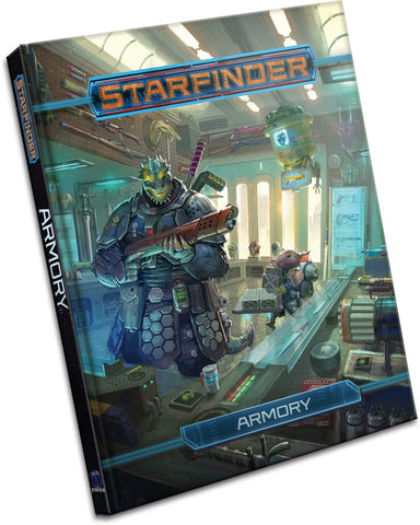 Starfinder: Armory (expected in stock 14th August)