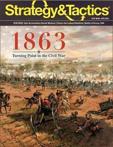 Strategy & Tactics 297: 1863 - Turning Point in the Civil War