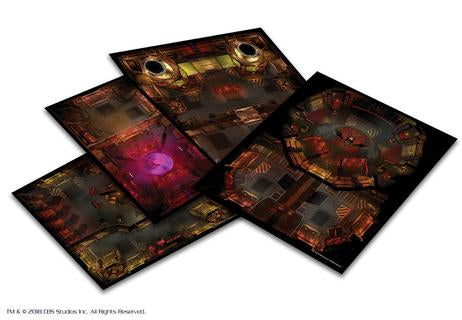 Star Trek Adventures: The Next Generation Klingon Tile Set + complimentary PDF