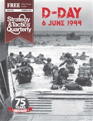 Strategy & Tactics Quarterly #6 - D-Day 6 June 1944
