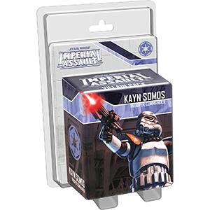 Star Wars Imperial Assault: Kayn Somos Villain Pack