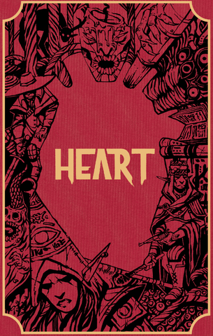 Heart: The City Beneath Core Book (Special Edition) + complimentary PDF