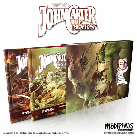 John Carter of Mars: Collectors Slipcase Set + complimentary PDF