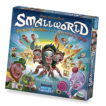 Small World Race Collection: Be Not Afraid & A Spider's Web