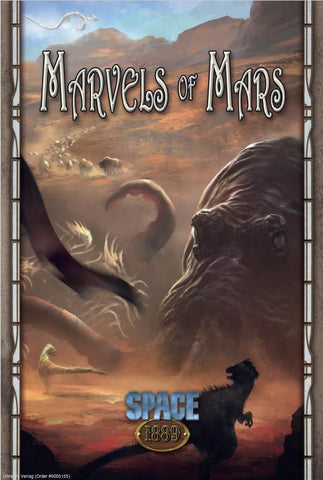 Space 1889: Marvels of Mars + complimentary PDF