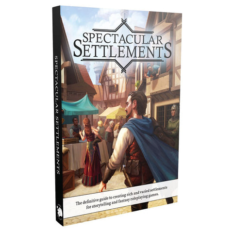 Dungeons & Dragons RPG: Spectacular Settlements Hardcover