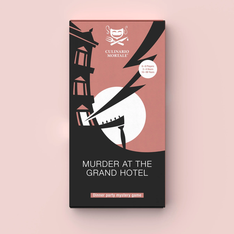 Culinario Mortale: Murder At The Grand Hotel (expected in stock on 20th April)