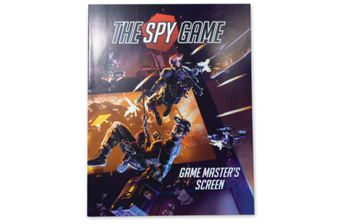 The Spy Game: GM Screen and Booklet