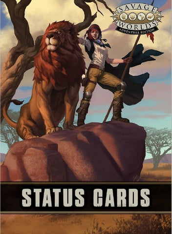 Savage Worlds Status Deck