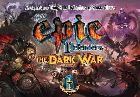 Tiny Epic Defenders: The Dark War (expected in stock 21st August)