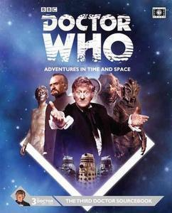 Doctor Who Third Doctor Sourcebook + complimentary PDF