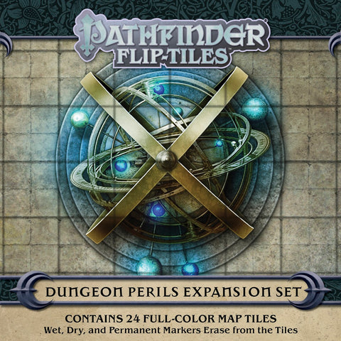 Pathfinder Flip-Tiles: Dungeon Perils Expansion (expected in stock 14th August)