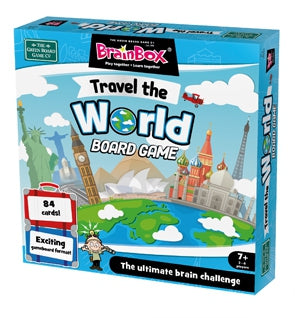 BrainBox Travel The World Board Game