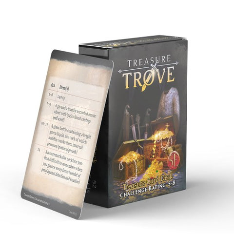 Fifth Edition: Treasure Trove Challenge Rating 5 to 8 Deck