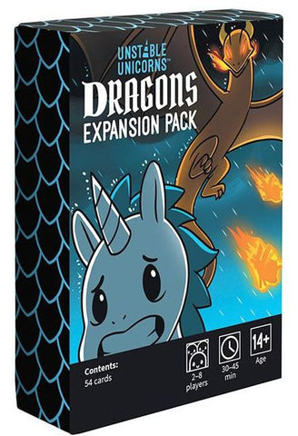 Unstable Unicorns: Dragon Expansion Pack (expected in stock 14th August)