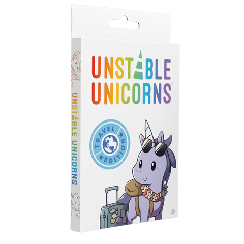 Unstable Unicorns: Travel Edition (expected in stock on 3rd November)
