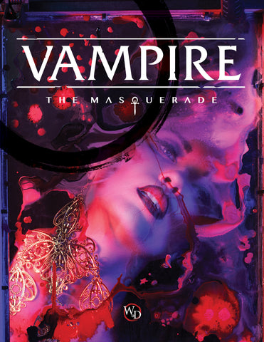 Vampire: the Masquerade 5th Edition Core Book + complimentary PDF