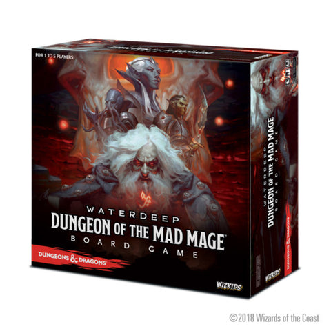 Dungeons & Dragons - Waterdeep: Dungeon of the Mad Mage Board Game DDN