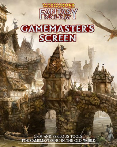 Warhammer Fantasy Roleplay Fourth Edition: Gamemaster Screen + complimentary PDF