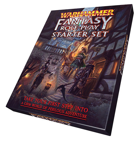 Warhammer Fantasy Role-play 4th Edition Starter Set + complimentary PDF