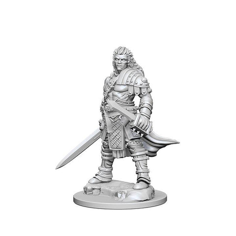 WZK72596 Human Male Fighter (2 minis) - Pathfinder Deep Cuts