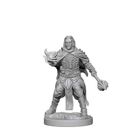 WZK72600 Human Male Cleric (2 minis) - Pathfinder Deep Cuts