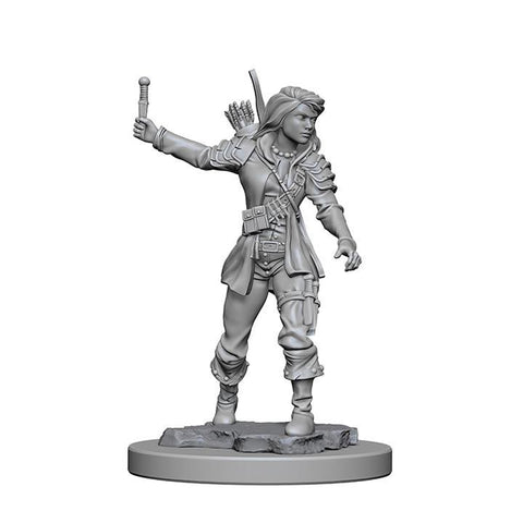WZK72603 Human Female Rogue (2 minis) - Pathfinder Deep Cuts