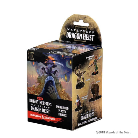 D&D Icons of the Realms: Waterdeep: Dragon Heist Booster