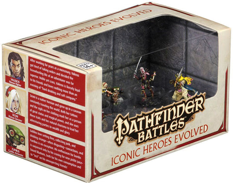 Pathfinder Battles: Iconic Heroes Evolved