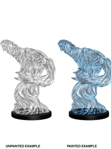 WZK73355 Pathfinder Deep Cuts Unpainted Miniatures: Medium Water Elemental