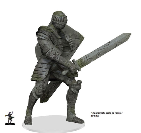 WZK73651: D&D Icons of the Realms Miniatures: Walking Statue of Waterdeep- The Honorable Knight