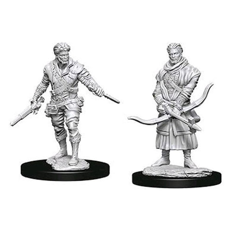 WZK73702: Male Human Rogue: D&D Nolzur's Marvelous Unpainted Miniatures (W9)