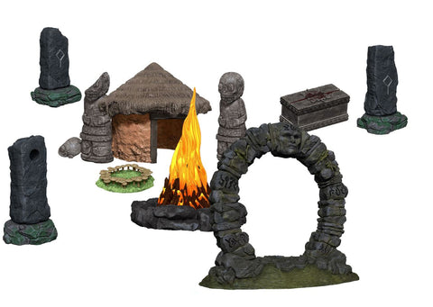 WZK73878: WizKids 4D Settings: Jungle Shrine
