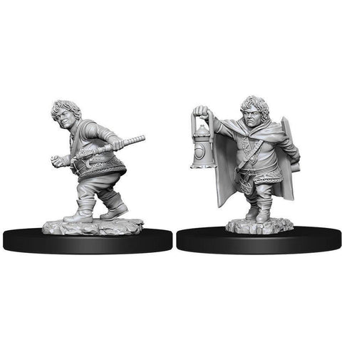 WZK90006: Male Halfling Rogue: D&D Nolzur's Marvelous Unpainted Miniatures (W11)