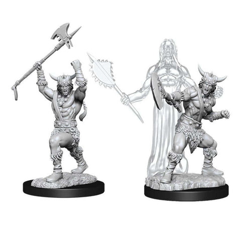 WZK90007: Male Human Barbarian: D&D Nolzur's Marvelous Unpainted Miniatures (W11)