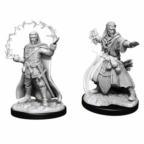 WZK90011: Male Human Wizard: D&D Nolzur's Marvelous Unpainted Miniatures (W11)