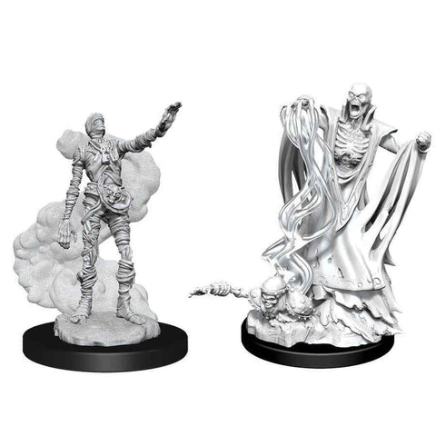 WZK90020: Lich & Mummy Lord: D&D Nolzur's Marvelous Unpainted Miniatures (W11)