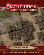 Pathfinder Flip-Mat Classics: Warehouse (release date 14th November)
